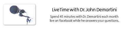 LiveTime with Dr. John Demartini